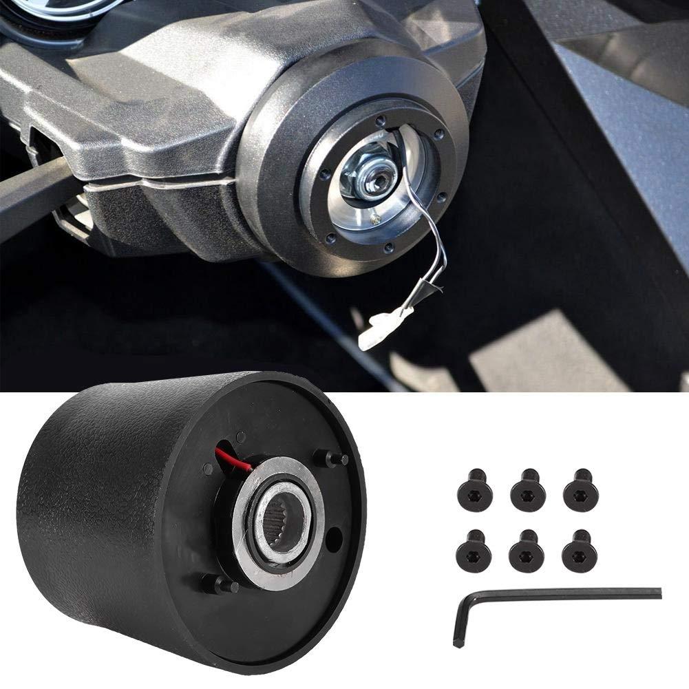 Aluminiumlegierung Auto Lenkradnabe Schnellwechsel Lenkrad Adapter Kit f/ür Lada Outbit Lenkradnabe