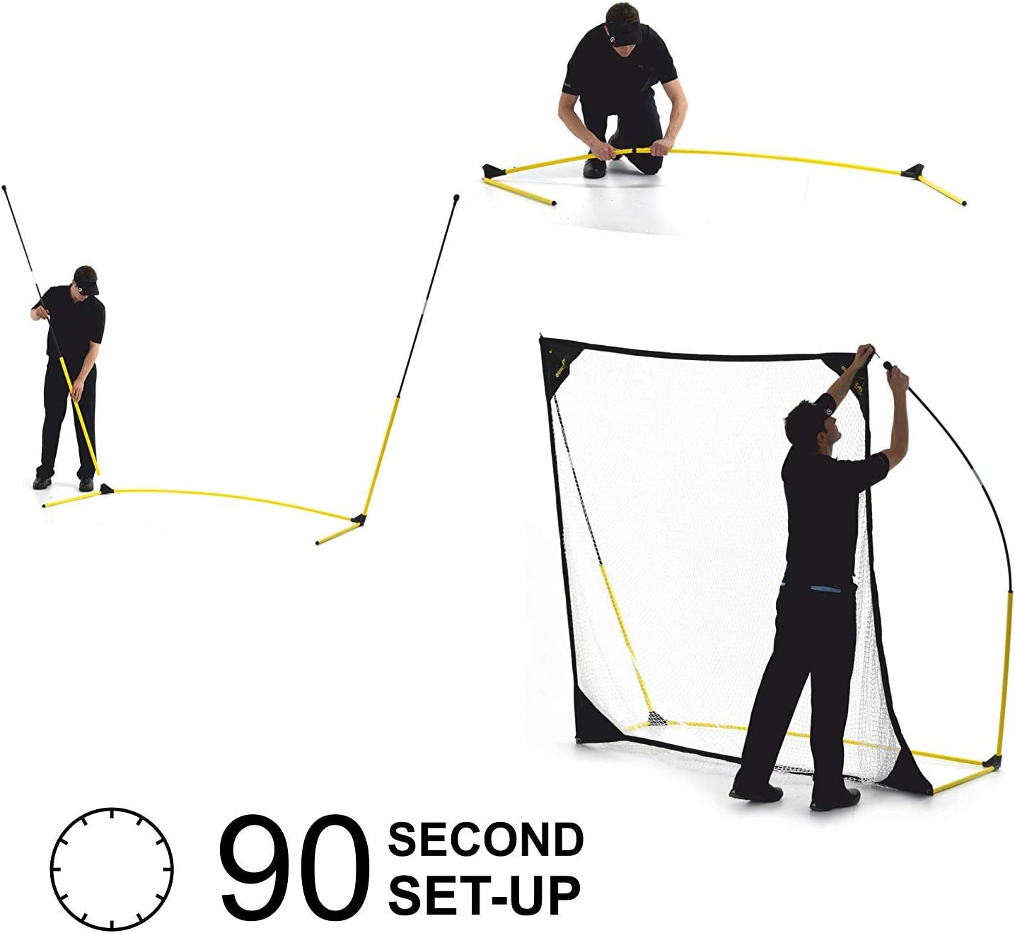 QuickPlay Quick-Hit Ultra-Portable Golf Practice Hitting Net Now Available in 2 Sizes