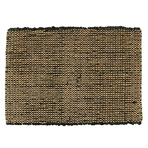Boucle Jute - Park Designs Jute Boucle Placemat - Black, Set of 2