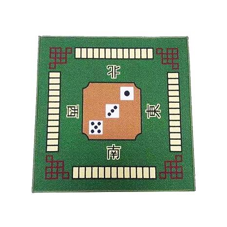 Blue 30.8 X 30.8 Aolvo Universal Mahjong // Paigow // Card // Game Table Cover Mahjongg Table Cloth Mute Table Cover for Poker Domino Tile Mahjong Card Games Non Slip Majiang Mat Rug