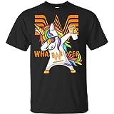 Burger Unicorn Dabbing T-Shirt - Funny Unicorn Shirt