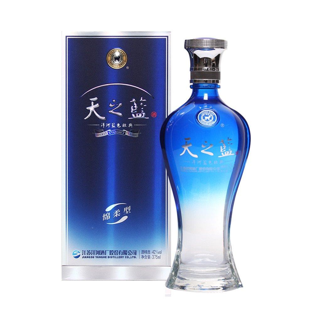洋河酒蓝色经典天之蓝42度375ml