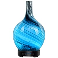 Equsupro Ultrasonic Glass Essential Oil Diffuser