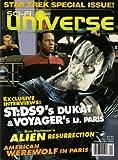 STAR TREK DEEP SPACE 9 SCI FI UNIVERSE FEBRUARY 1998 ALIEN RESURRECTION!