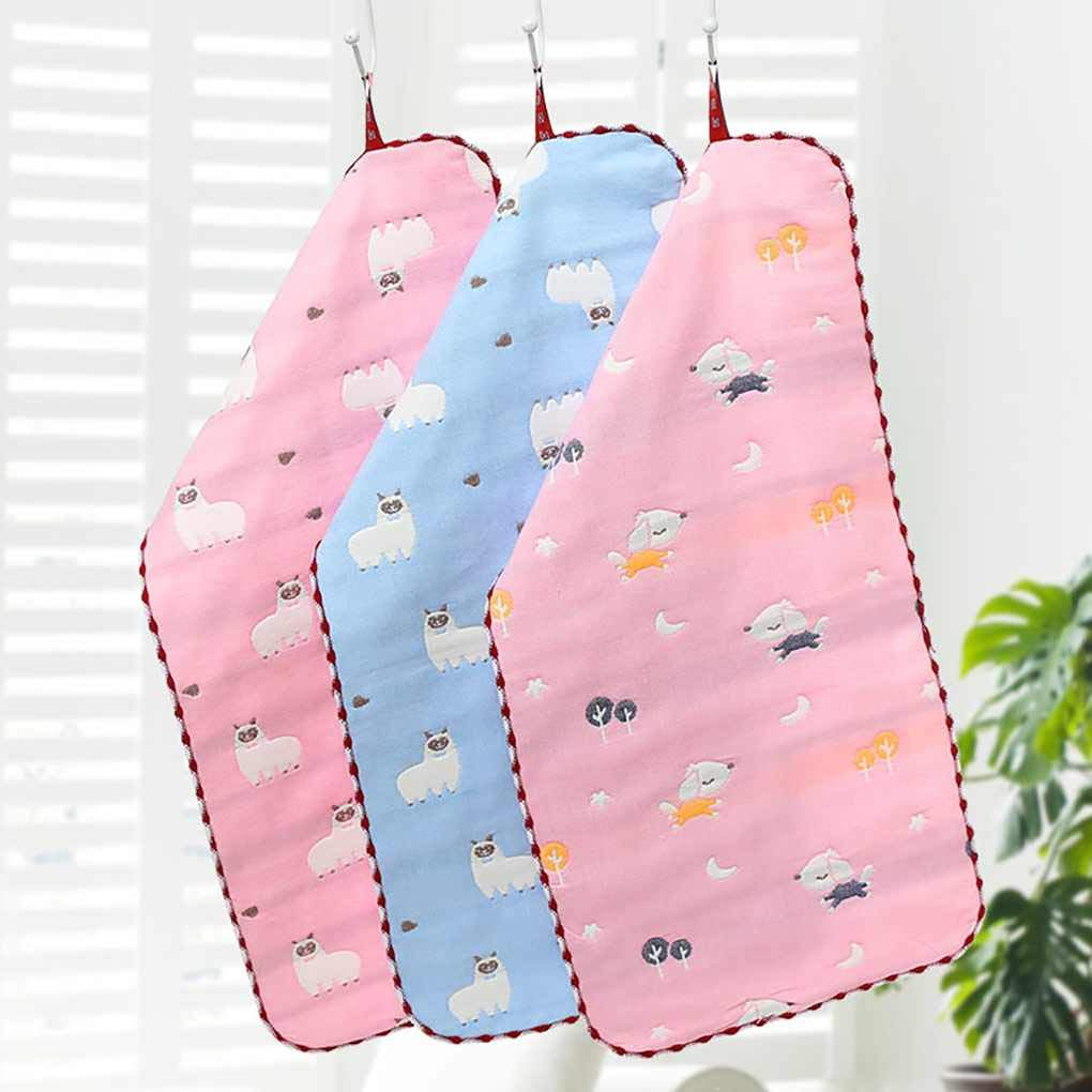 Vkospy 6 Capa de Gasa de algodón del bebé de la servilleta Lindo Color sólido Niños Toalla Absorbente Piscina de Aire Toallita: Amazon.es: Hogar