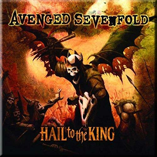 Avenged Sevenfold Hail To The King Fridge Magnet
