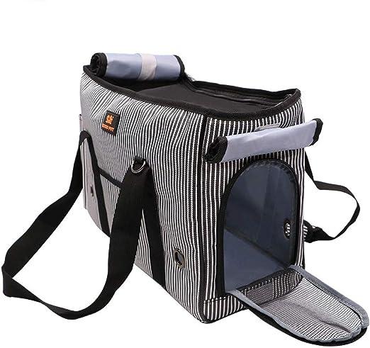 Galapara Portador del animal doméstico Portador del gato Portador del perro Portador del viaje del animal doméstico Bolso del portador del gato Portador del bolso para los gatos Perros Mascota Perrera: Amazon.es: