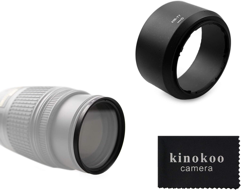 Kinokoo 58 Mm Uv Filter Kameraobjektiv Zubehörsatz Für Kamera