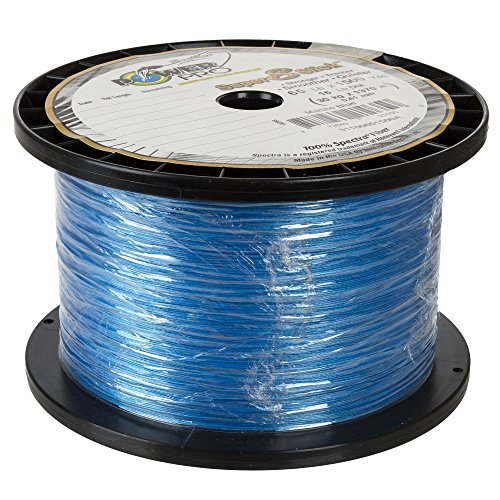 Power Pro 31100301500A Super 8 Slick Fishing Line, Marine Blue, 30-Pound/1500-Yard