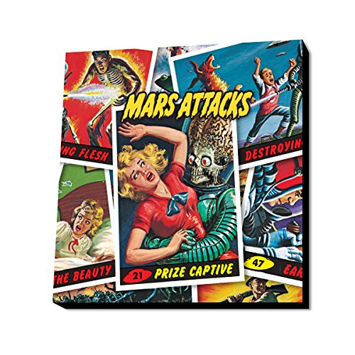 Lamp-In-A-Box Mars Attacks PRIZED Cards 9.5