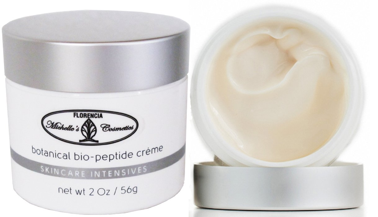 Florencia Botanical Bio-Peptide Cream An Intensive Anti Aging Hydrating Cream Firms Moisturizes, Rejuvenates Boosts COLLAGEN Production. MiCo Michelle s Cosmetics by Florencia 2 Oz
