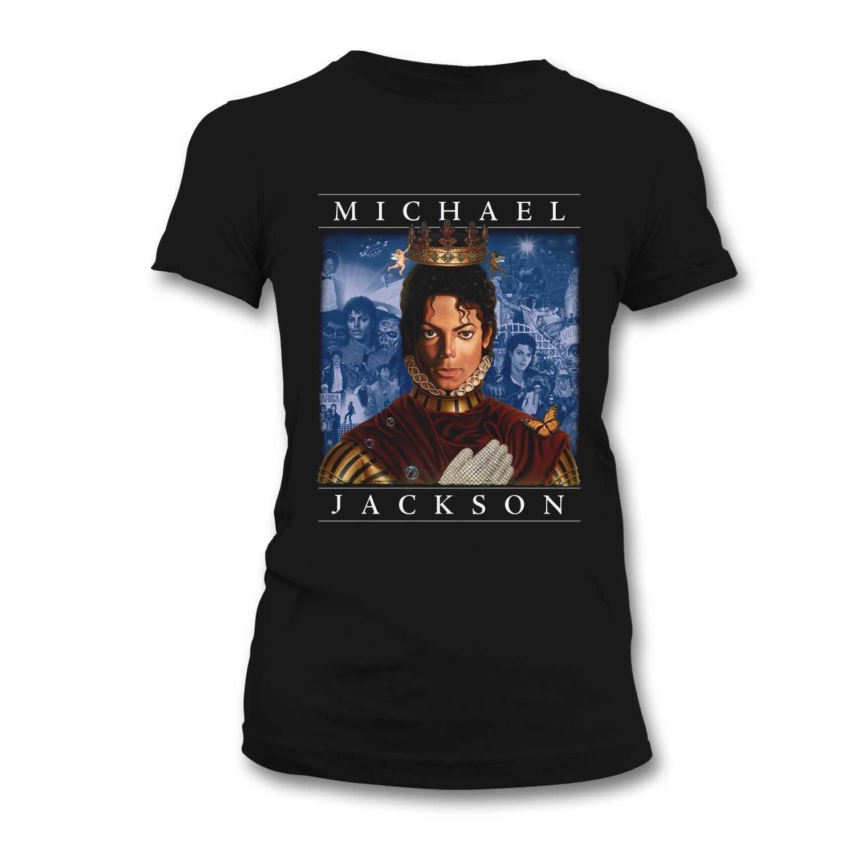 Bravado - Camiseta Mujer Michael Jackson: Retrospective, Color Negro, Talla S: Michael Jackson: Amazon.es: Música