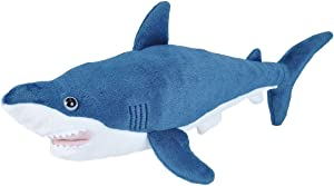 Wild Republic Mako Shark Plush, Stuffed Animal Toy, Gifts for Kids 21 Inches, Cuddlekins
