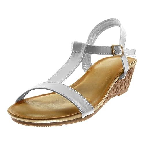 Femme Angkorly Mode Lanière Chaussure Salomés Sandale Cheville 8nOkNw0PX