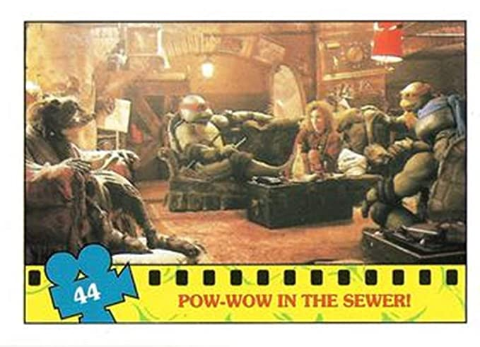 1990 Topps Teenage Mutant Ninja Turtles: The Movie #44 - Pow ...