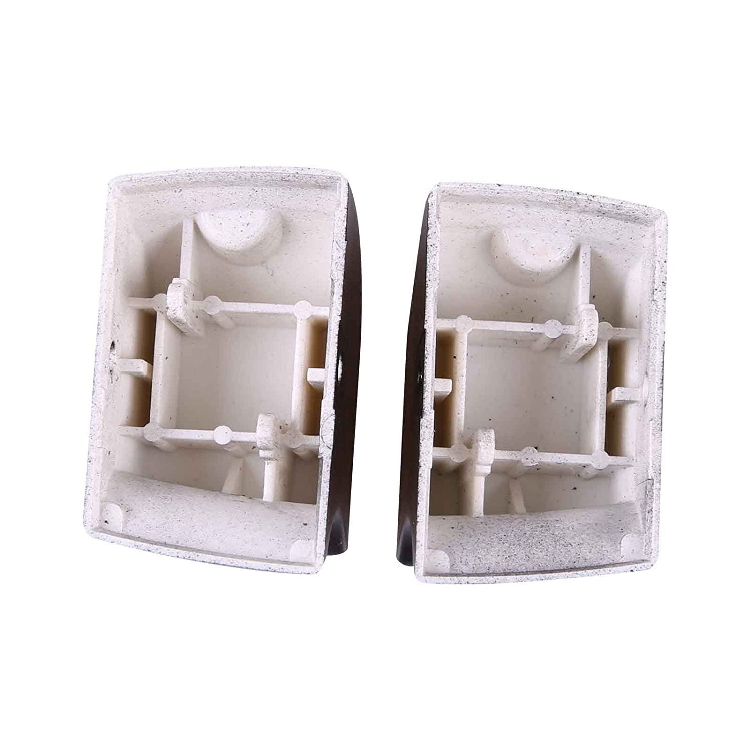 Bross BDP119FBA 2 Pieces Power Window Switch Button Cover Cap Front Left Hand Driver Side for Audi:4FD 959 855// 4F0 959 855 Bross Auto Parts