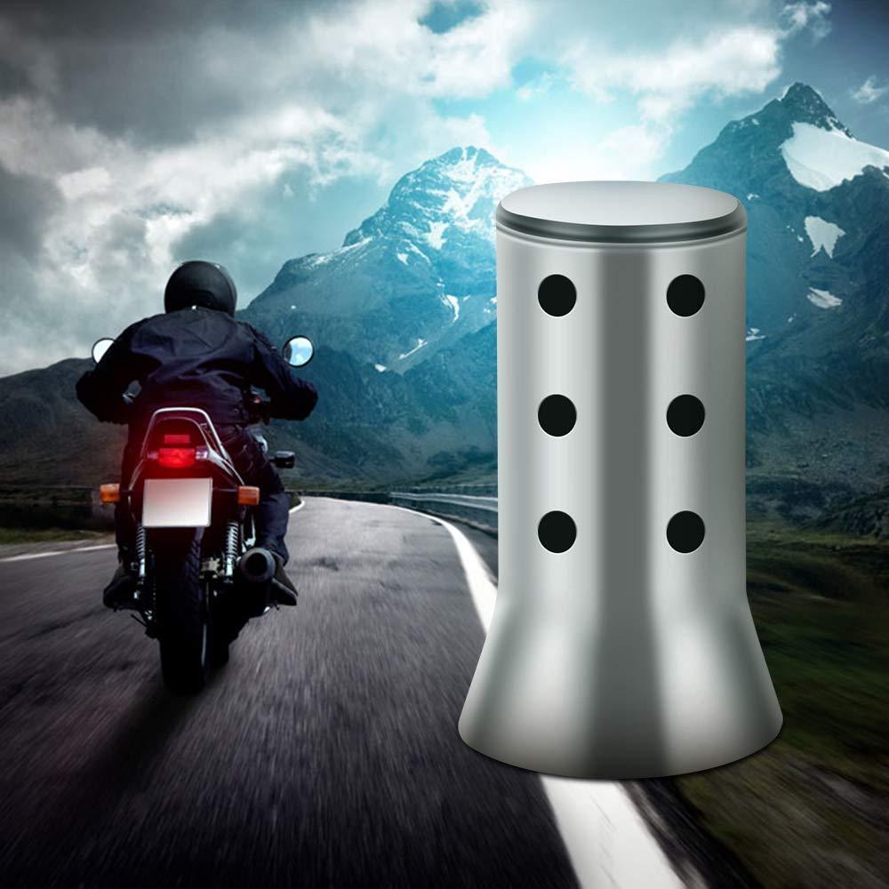 tubo de silenciador extra/íble de fibra de carbono GP Dightyoho Silenciador de escape de motocicleta Scooter Di/ámetro 38-51 mm F