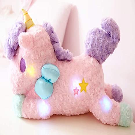 JEWH Luminous Led Light Stuffed Unicorn - Plush Toy Soft Flashing - Stuffed Animal Unicornio Doll