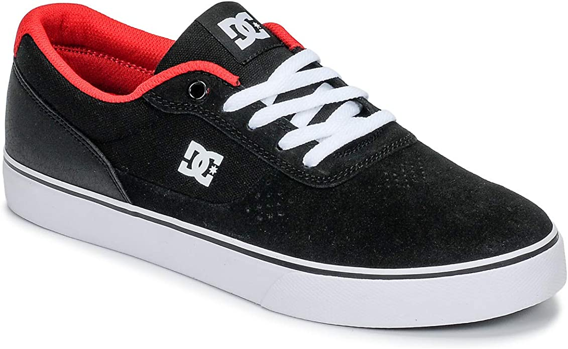 DC Shoes Switch Sneakers Herren Schwarz/Rot