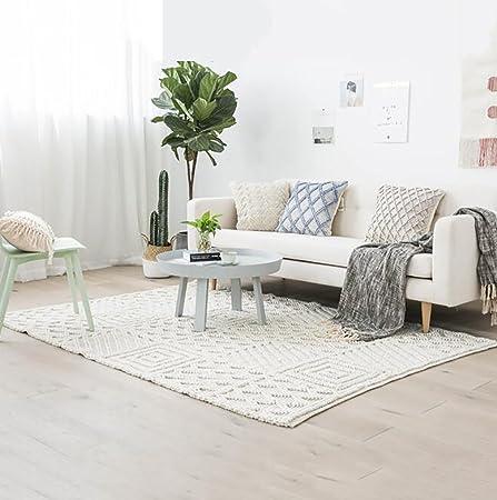 Tappeti decorativi moderna tappeto stuoie rettangolare per camera da ...