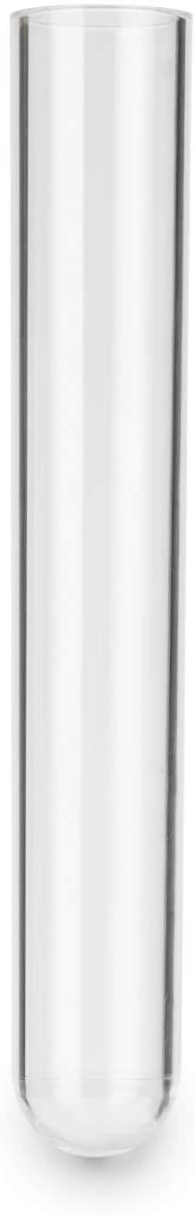 55 x /ø 12 mm Reagenzien ✓ Hochwertig Tuuters 25x Reagenzgl/äser aus Kunststoff mit Natur-Korken Reagenzr/öhrchen