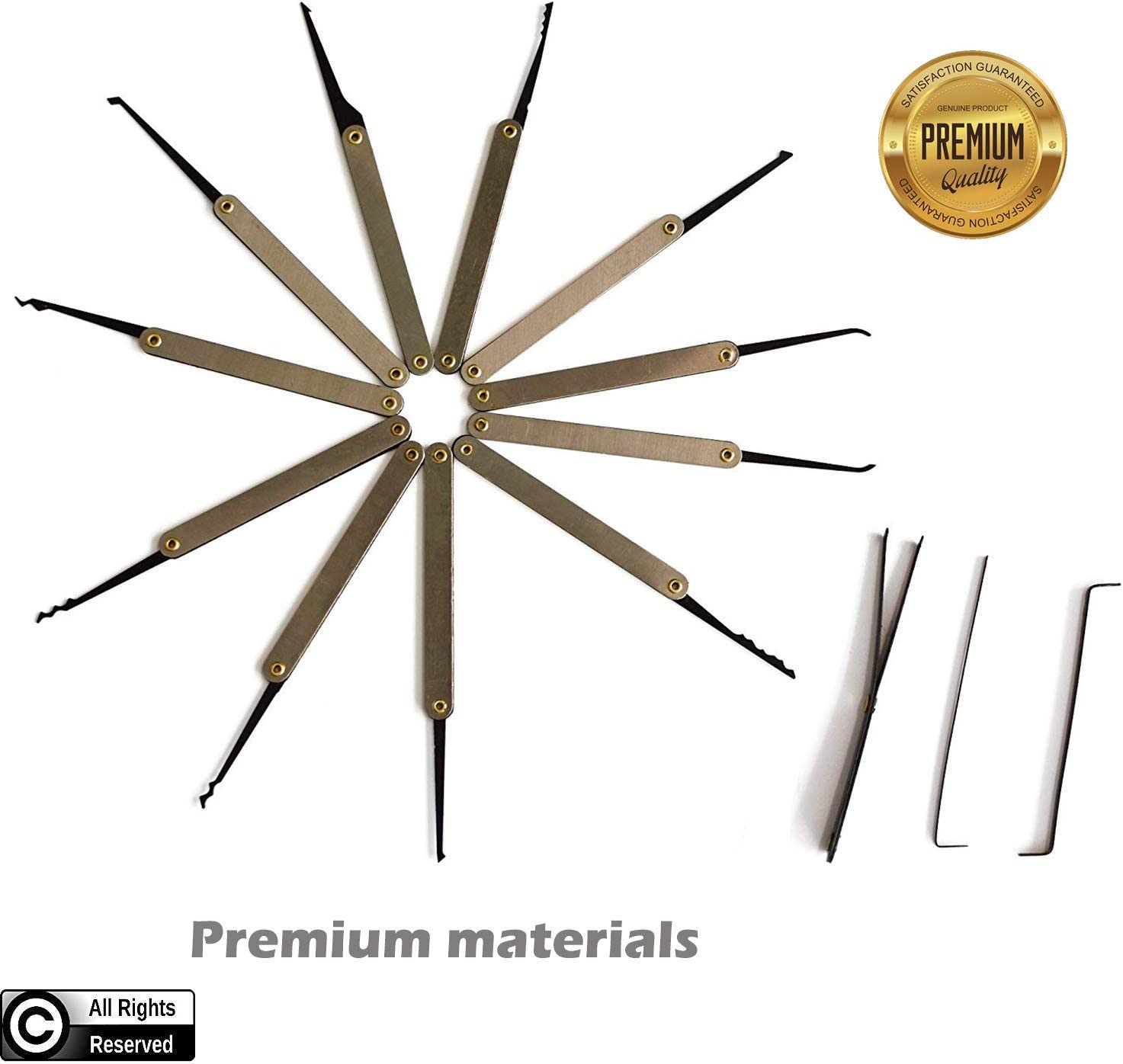 Sawyer Product Stainless Steel Lock Set Big Pack
