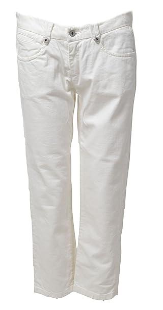 Full Circle Cult J22 - Pantalones Vaqueros Blancos Blanco ...