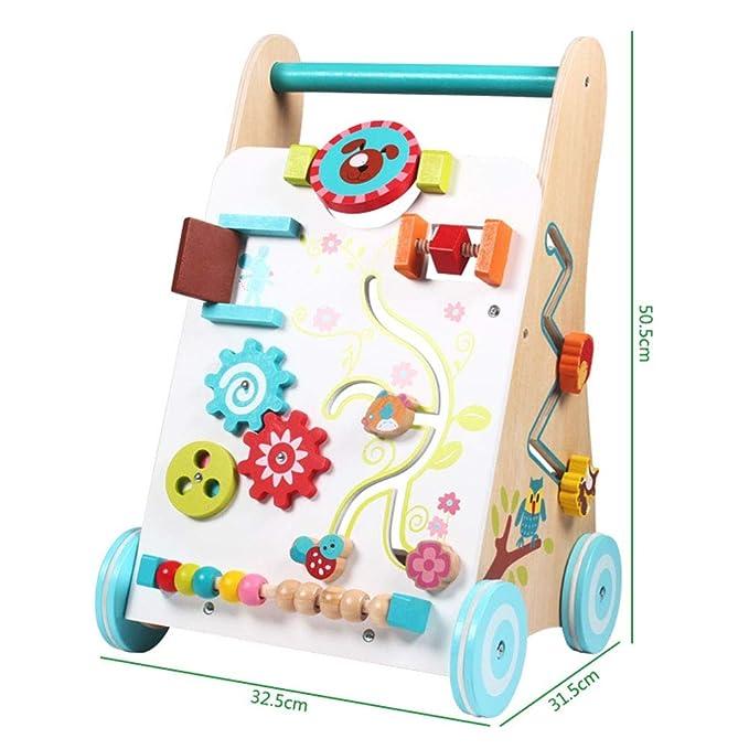 Juguete para empujar y tirar del carrito rodante Carretilla ...