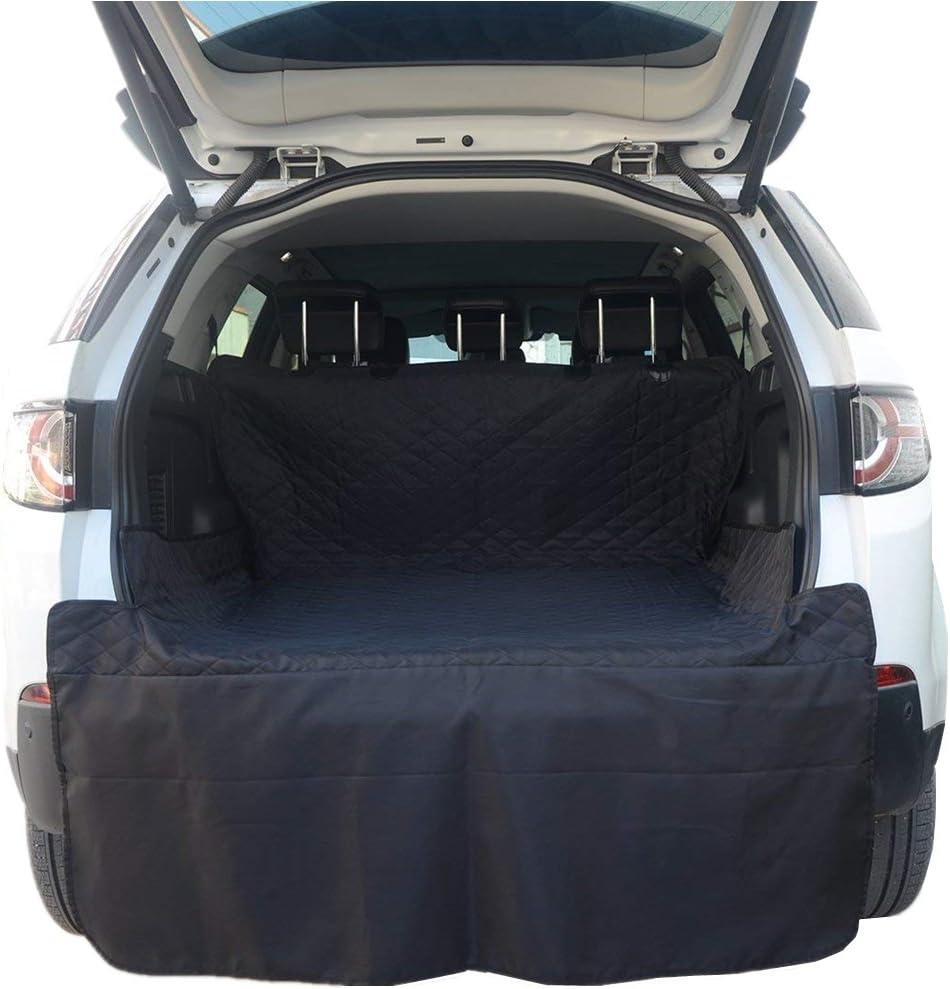 HONCENMAX Grande Perro Vehículo Protector de Maletero Cubierta del Revestimiento de Carga Mascota Cubierta de Asiento Estera Antideslizante Impermeable Universal para Camionetas SUV - XL