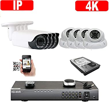 5MP 2592x1920P PoE Onvif Dome Weatherproof IP WDR Security Camera 48-IR OSD Menu