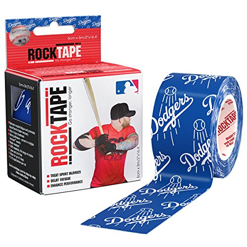 Rocktape Kinesiology Tape for Athletes, Water Resistant, Reduce Pain & Injury Recovery, 2