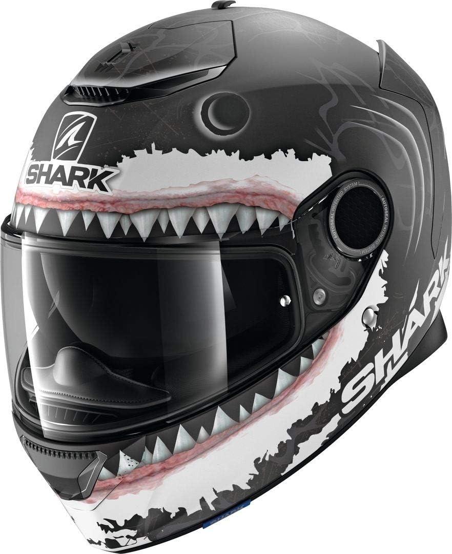 Shark Motorradhelm SPARTAN 1.2 REDDING MAT KBW Schwarz//Blau//Weiss//Rot XS