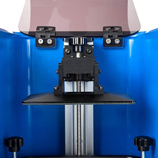 Comgrow Creality 3D UV LCD 3D Printer Assembled with 3.5 Full Color Touchscreen On-line and Off-line Printing 4.7 x 2.7 x 4.7 Print Size On-line and Off-line Printing 4.7 x 2.7 x 4.7 Print Size