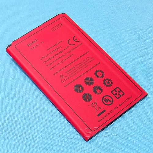 Long Lasting 2400mAh Extended Slim Business Battery for LG X Style L53BL Android phone - USA by SodaPop