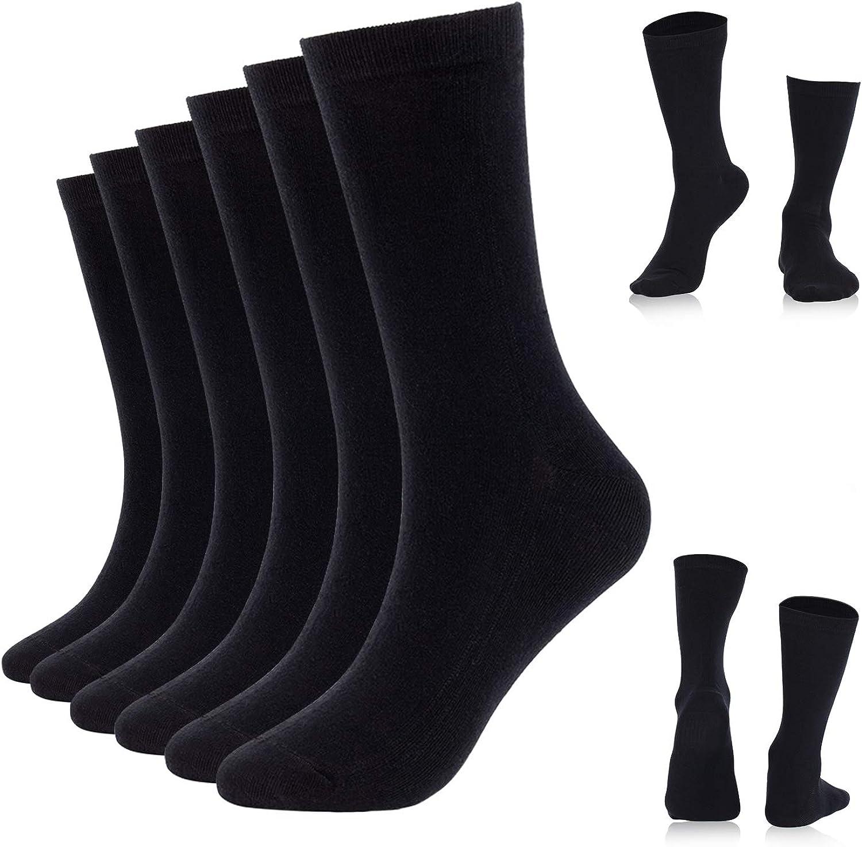 3//6-pair Mens Socks Running Hiking Dress Athletic Trouser Socks Women Moisturizing Cotton Crew Socks