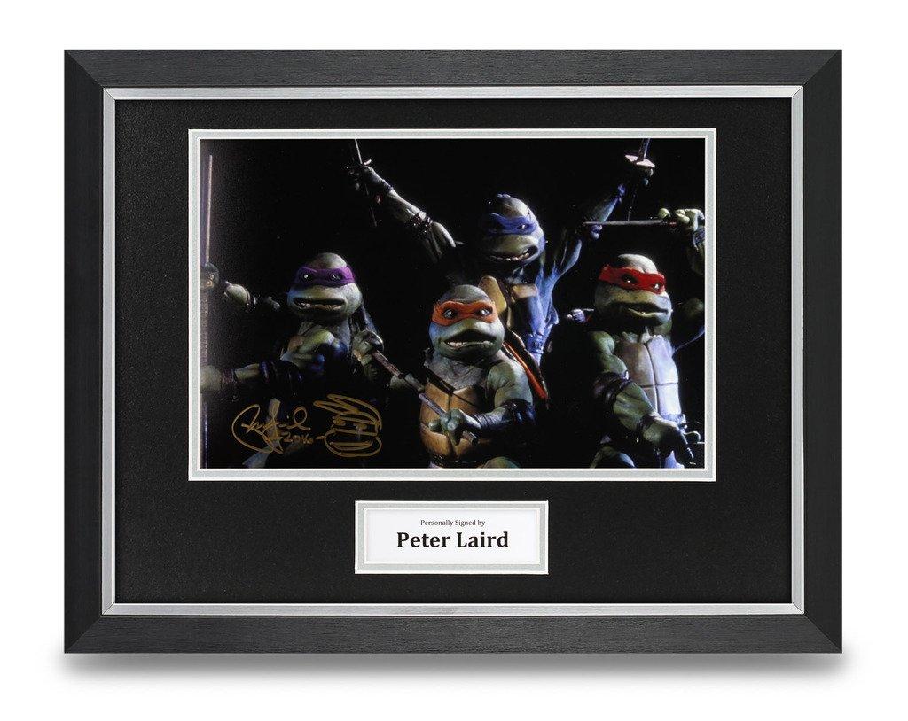 Peter Laird firmado foto enmarcada 16 x 12 autógrafo de las ...