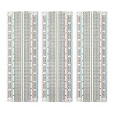 Smraza 830 Point Breadboard Kit , PCB Board Kit for Raspberry Pi, Arduino Connecting Blocks