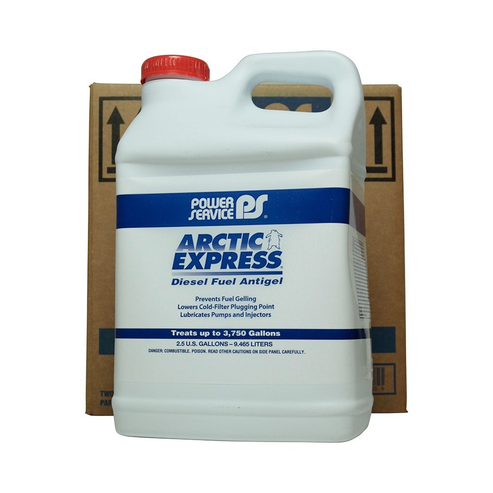 Power Service Arctic Express Antigel - 2/2.5gal. Bottles by Power Service
