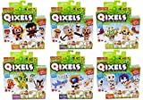 Qixels Refill 6 Pack Bundle - Monsters, Medieval, Deep Sea, Martial Arts, Warriors, Skeleton Army