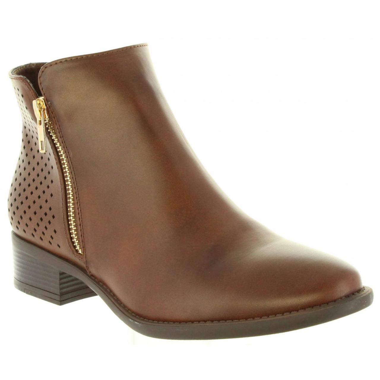 Botines de Mujer MARIA MARE 62333 C43324 Lotus Castano: Amazon.es: Zapatos y complementos