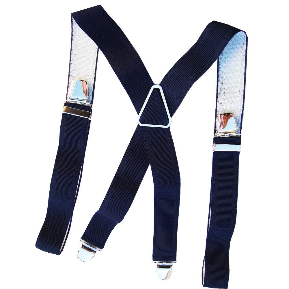 Bretelles homme coloris marine Made In France