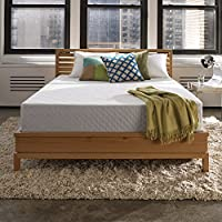 Sleep Innovations Marley 10-inch Gel Memory Foam Mattress, Made in The USA with a 10-Year Warranty - King Size