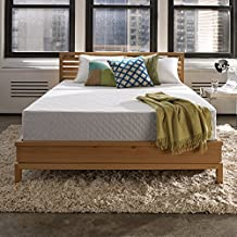 Sleep Innovations Marley 10-inch Gel Memory Foam Mattress, Made in the USA with a 20-Year Warranty - King Size