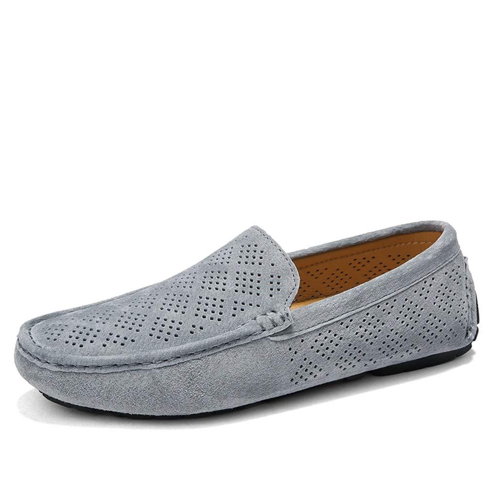 YAN Herren Freizeitschuhe Loafers & Slip-Ons Schuhe Breathable Verschleißfeste Wildleder Mokassins Lässig/Täglich Wanderschuhe/Fahr Schuhe