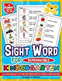 Sight Words for Kindergarten Reproducible with Amazing Engaging Ability for Ever: Sight Words Kindergarten Ideal for Recognizing & Learning Trends for Kids (Sight Word Books)