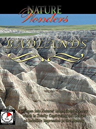 (Nature Wonders - Badlands - South Dakota - U.S.A.)