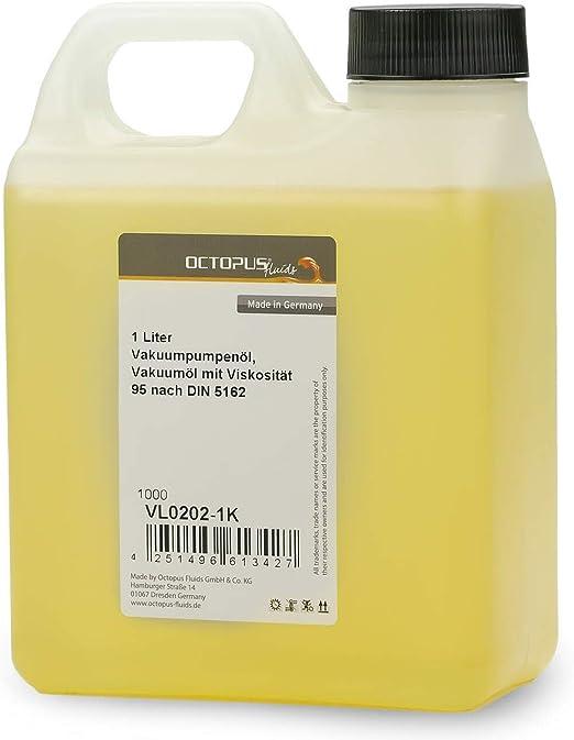 Octopus 1000 ml Aceite para Bomba de vacío 1 litro Aceite para Bomba de vacío Aceite para Bomba de vacío Aceite para compresor HV100 Aceite para máquinas: Amazon.es: Hogar