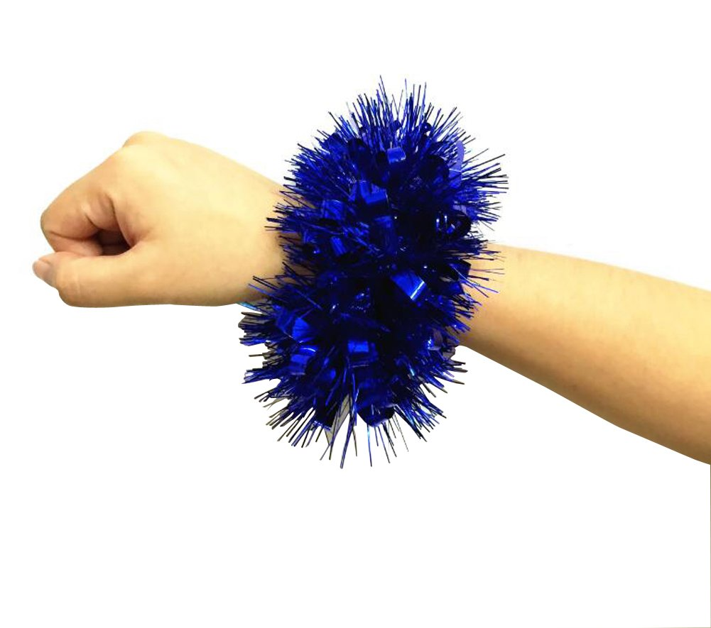 2 STÜ CKE Cheerleader Cheerleader Blume Armband Hand Dekoration Werkzeuge Sport Party Zubehö r Tanz Ball Party Sport Pompoms Jubeln Pom fü r Colleage Team Geist Corporate Events Elandy