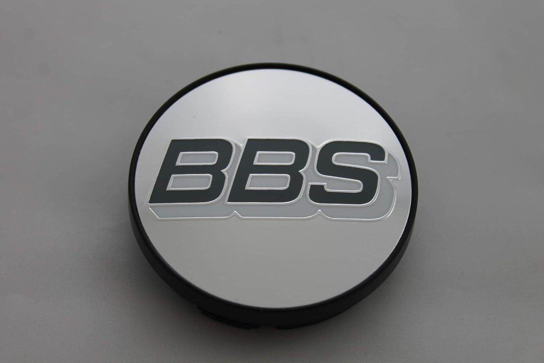 1x BBS Coperchio Mozzo Cerchi emblema COPERCHIO 70,6mm ARGENTO//CARBON 0924467
