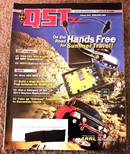 Used, QST Magazine (August 2013; Vol. 97, No. 8) for sale  Delivered anywhere in USA
